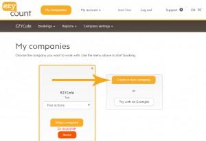 My companies page
