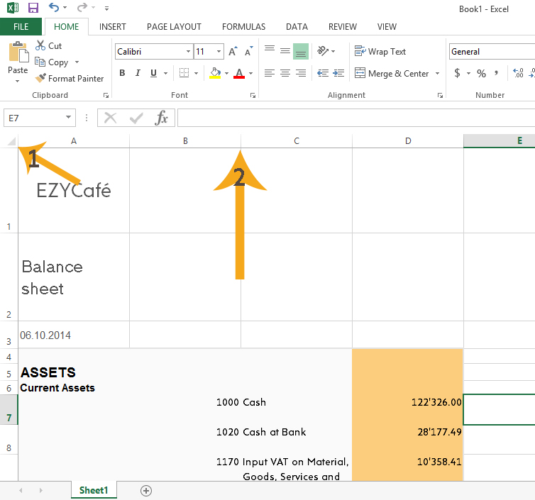 Re-size the excel file